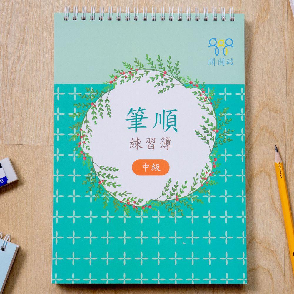 筆順練習簿-中級-暢銷教養作家王麗芳老師研發-24頁