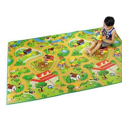 兒童安全遊戲地墊-大-開心農場 (200 x 120cm)