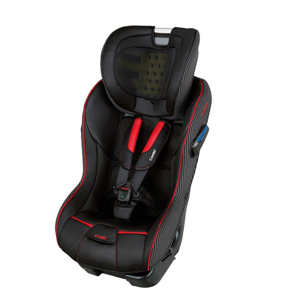 日本 Combi - New Prim Long EG 汽車安全座椅-羅馬黑-新生兒0歲起~7歲(25kg以下)