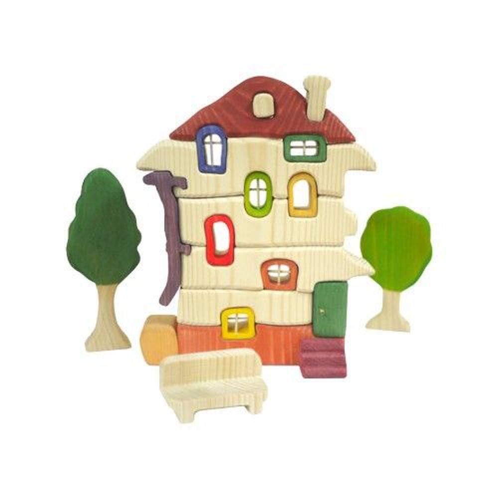 淳木童話 - 建築系列:小木屋