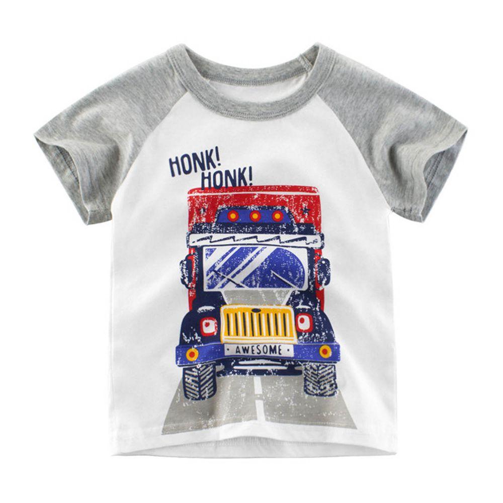短袖棉T-HONK!貨櫃車