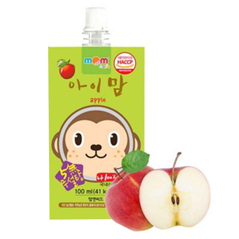 韓國自然農場 - 無添加果汁-蘋果-100ml