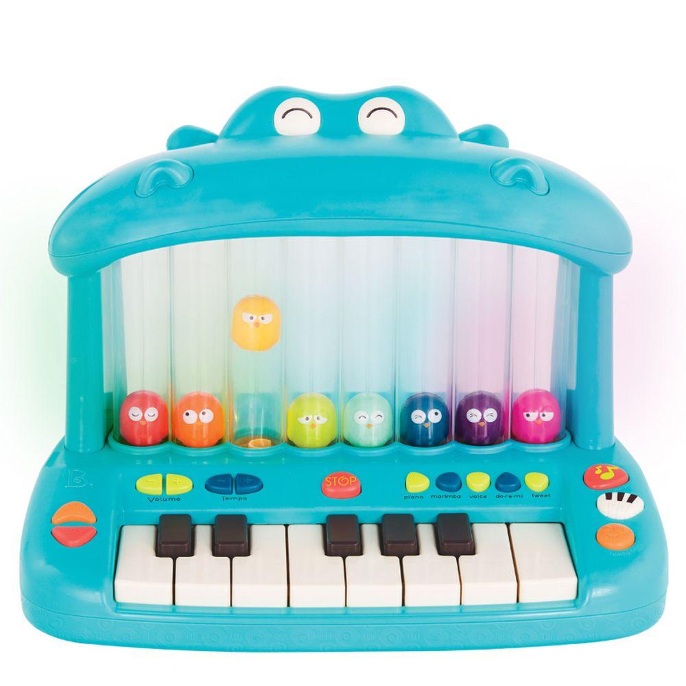 B.TOYS - 噴氣河馬彈鋼琴