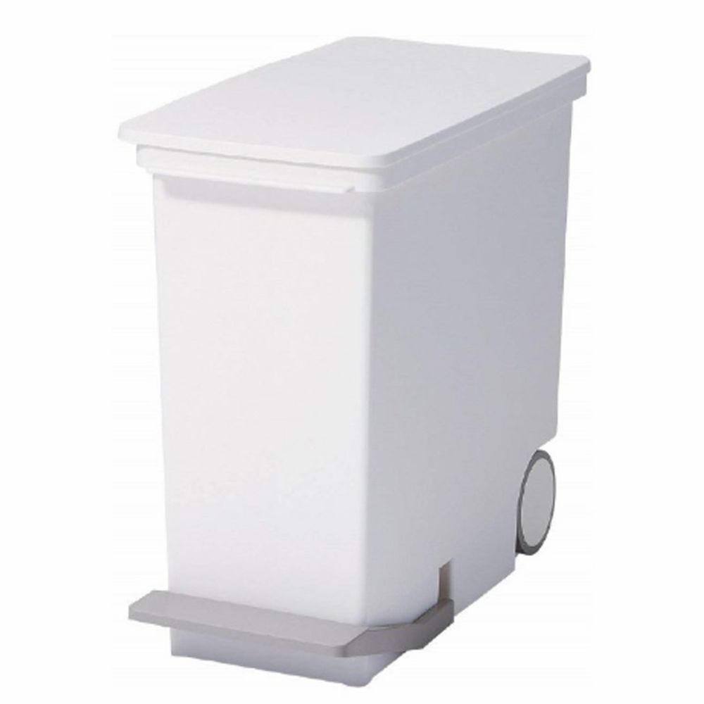 日本 LIKE IT - 直立式分類垃圾桶 25L-純白色 (25L)