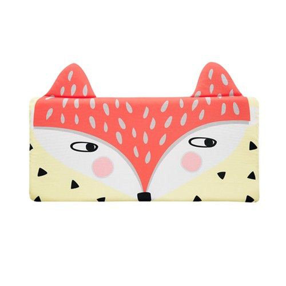 韓國 Bonitabebe - 3D Air Mesh 三段式可調高兒童涼枕-橘色狐狸 (59*29cm)-3D Air Mesh填充枕3個+枕頭套1個
