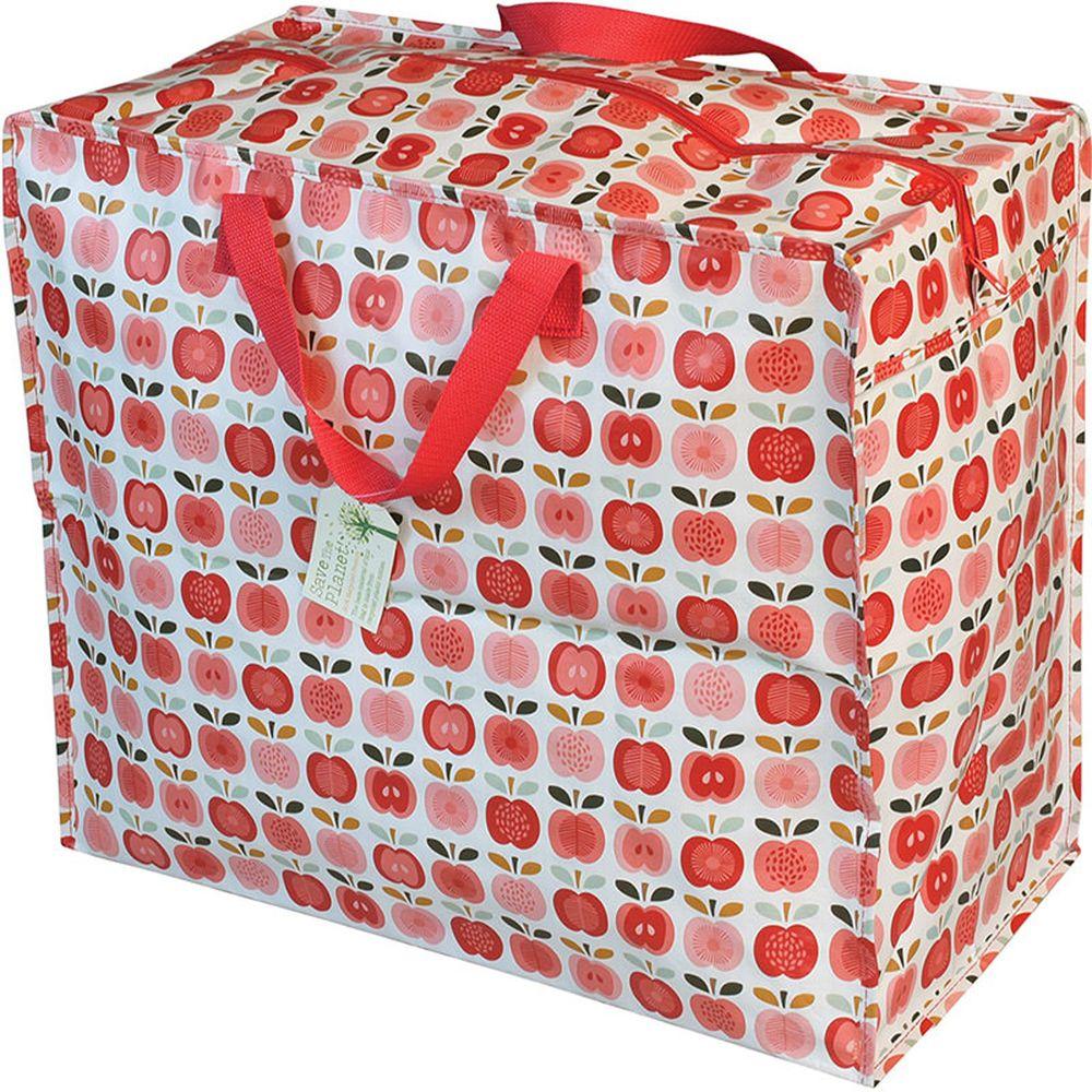英國 Rex London - 衣物/棉被超大多功能防水環保收納袋/萬用袋-紅蘋果