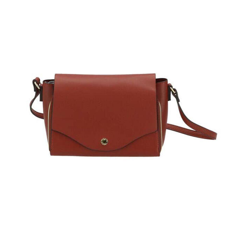日本 Legato Largo - 輕量PU時尚皮革錢夾包-RBR紅棕 (23x14x8.5cm 肩背約95~129cm)