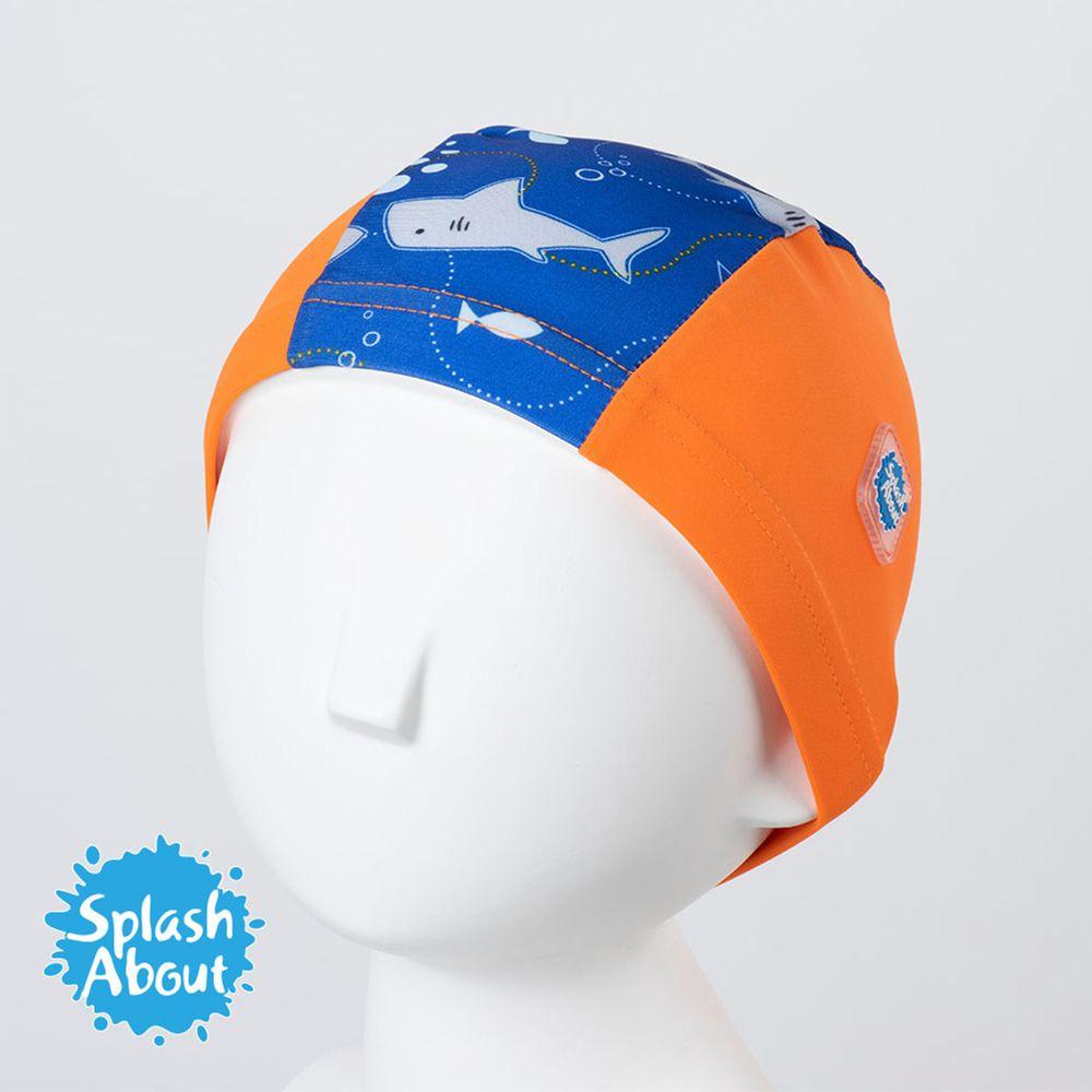 Splash About 潑寶 - Swim Hat 抗UV泳帽-亮橘鯊魚