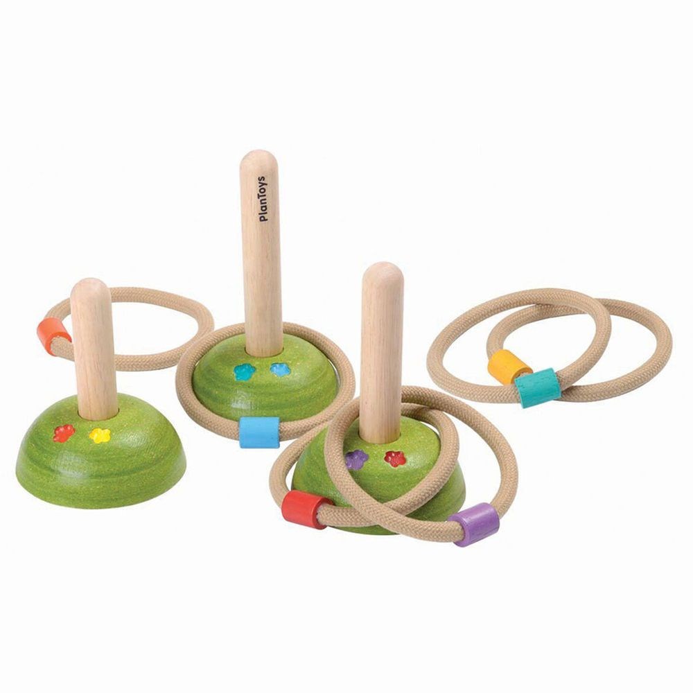 泰國 Plantoys - 經典木作童玩-套圈圈