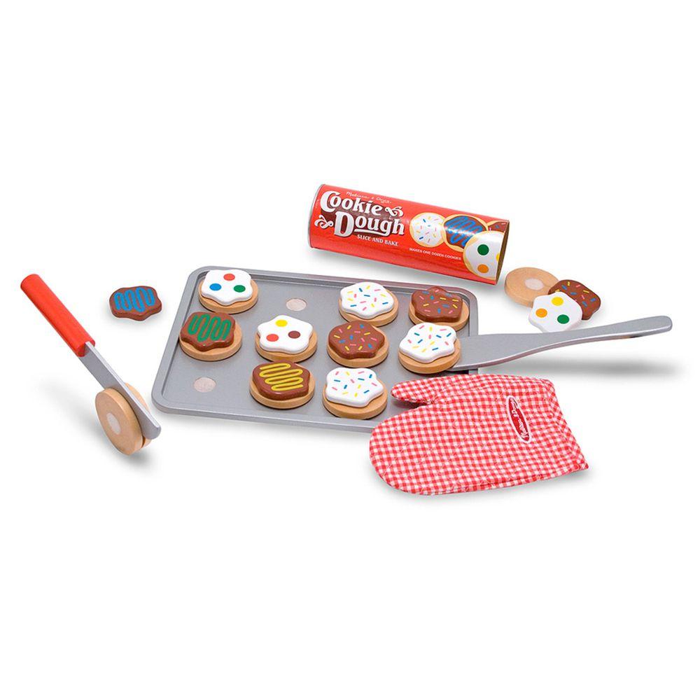 美國瑪莉莎 - MD 玩食趣 - 木製烤餅乾遊戲組
