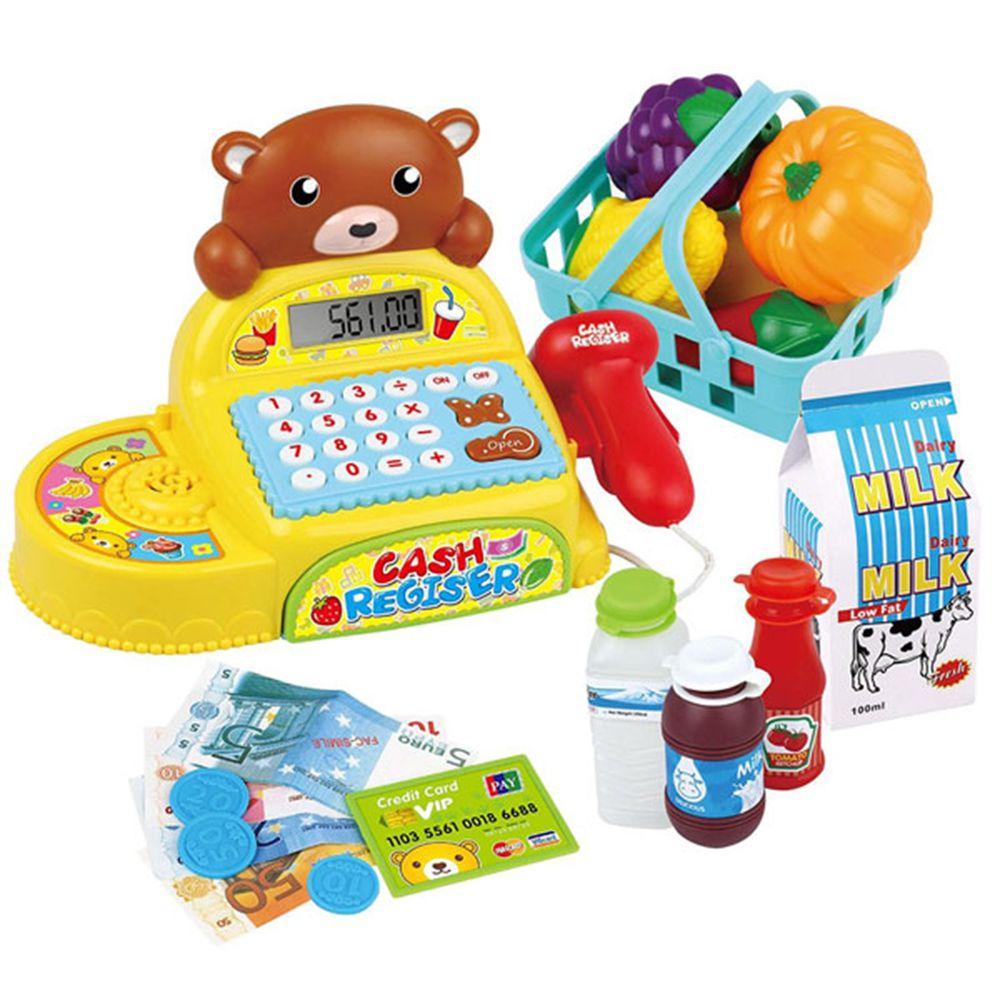 酷比樂 - 【兒童玩具】小熊電動收銀機 35561