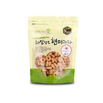 Naeiae韓國米餅圓圈圈_草莓優格風味 效期到2018/12/17-50g