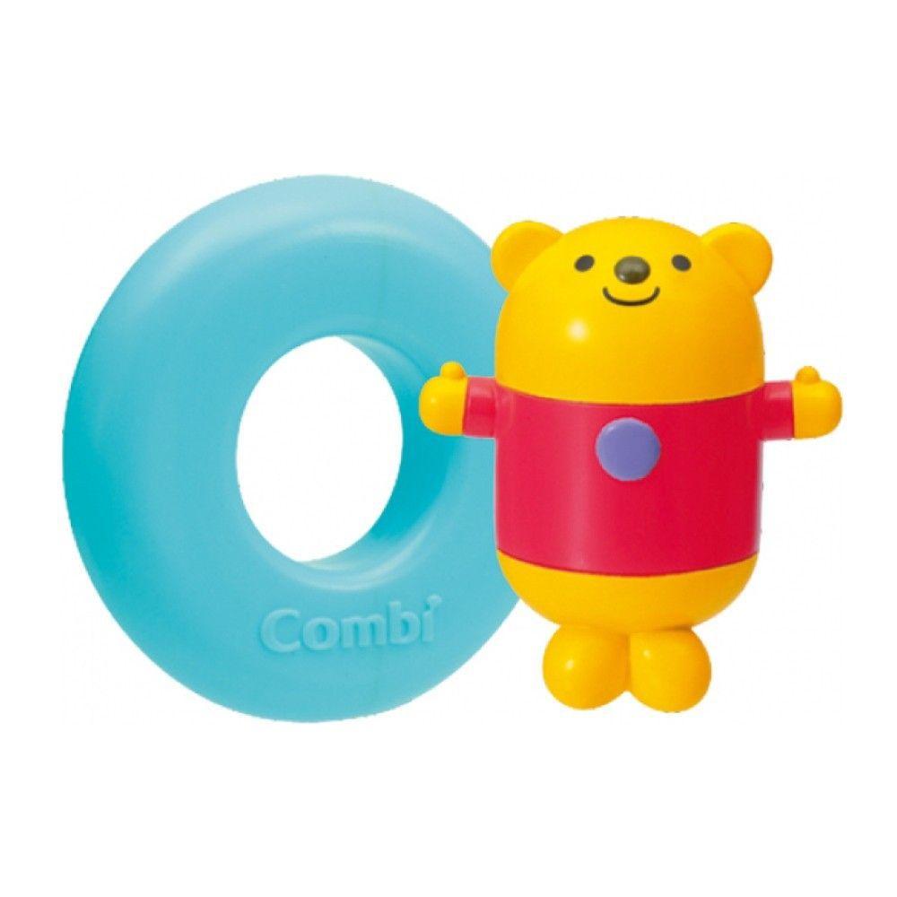 日本 Combi - 洗澡玩具-小熊-12個月起
