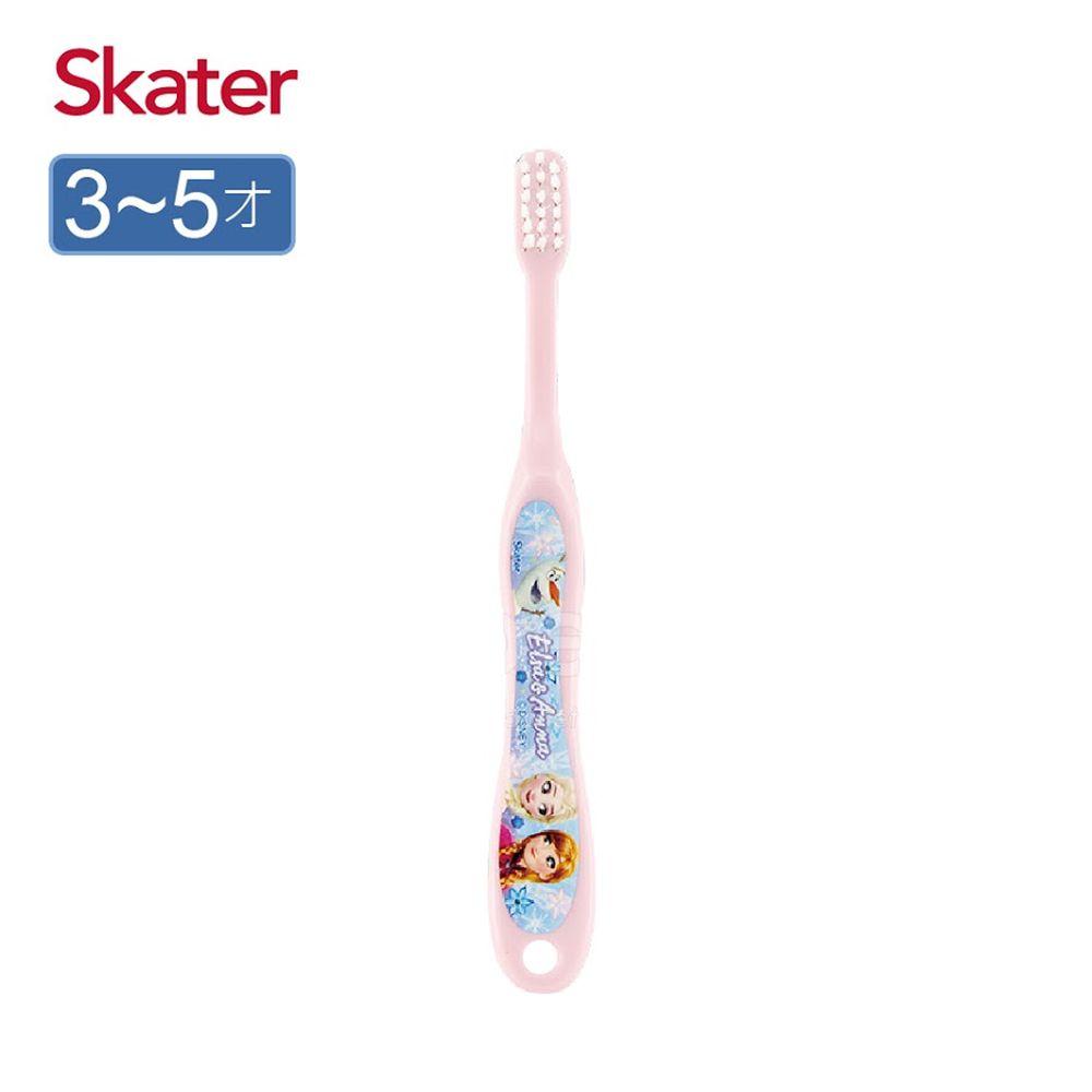 日本 SKATER - 軟毛牙刷(3-5歲)-冰雪奇緣