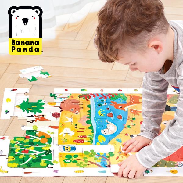 美國最受矚目教育品牌!Banana Panda 人體科學拼圖、字母圖卡