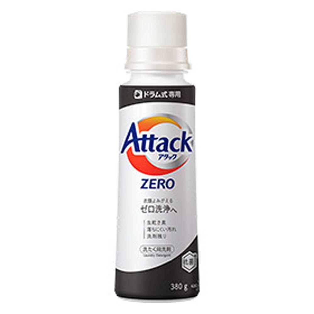 日本花王 - Attack Zero 超濃縮洗衣精-(適合滾筒式式洗衣機)-380g