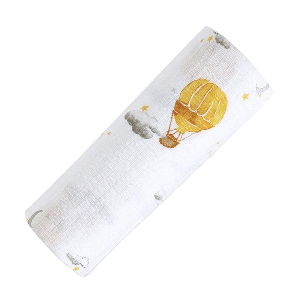 美國 Malabar baby - 有機棉包巾-夢想升空 (120*120cm)