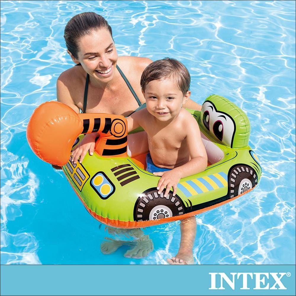 INTEX - 幼童造型游泳圈-適用1-2歲-怪手