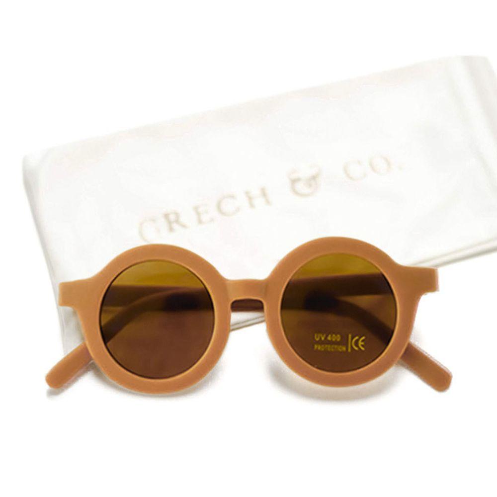 丹麥GRECH&CO - 兒童太陽眼鏡-經典款-亮澄-18個月至6歲