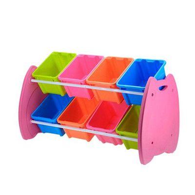 喵頭鷹玩具整理組(DIY組裝)-繽紛8格組