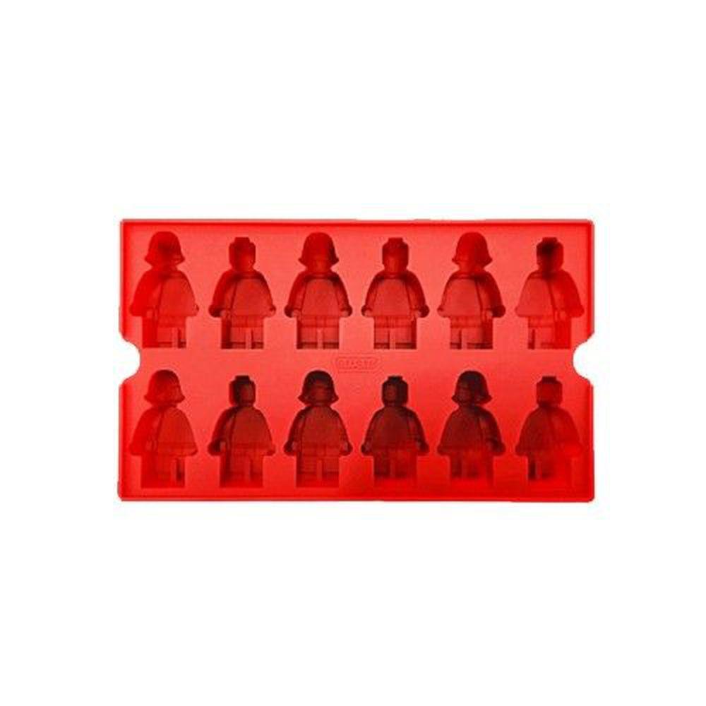 韓國 OXFORD - 樂高造型DIY模具-12小格-紅色