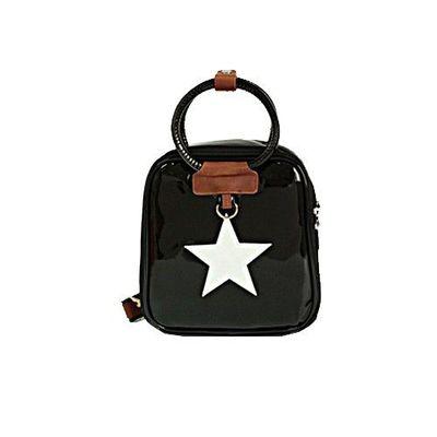 星星保溫保冷兒童包-亮黑色