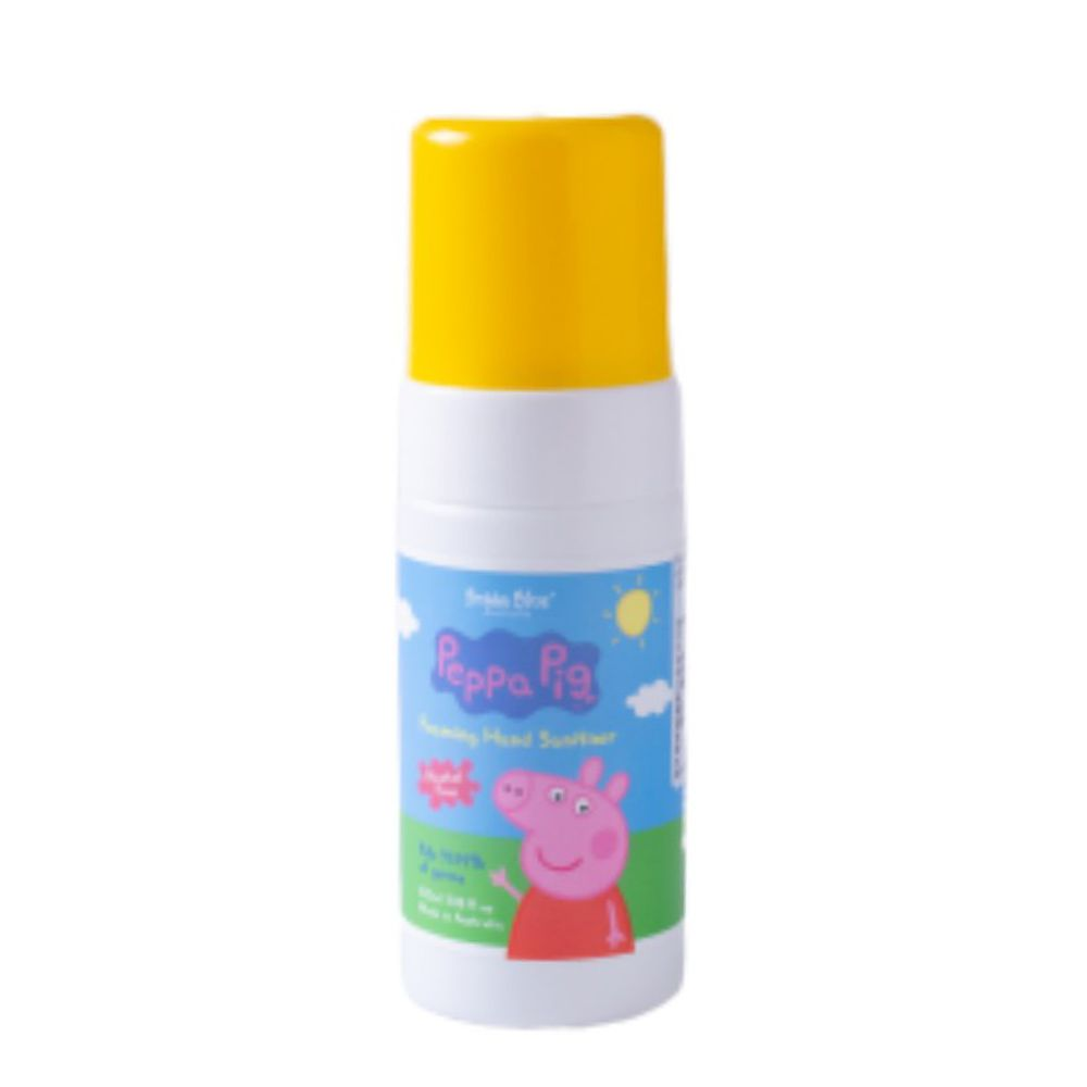 澳洲 Bubba Blue - 無酒精乾洗手慕斯-無香-佩佩豬-100ml