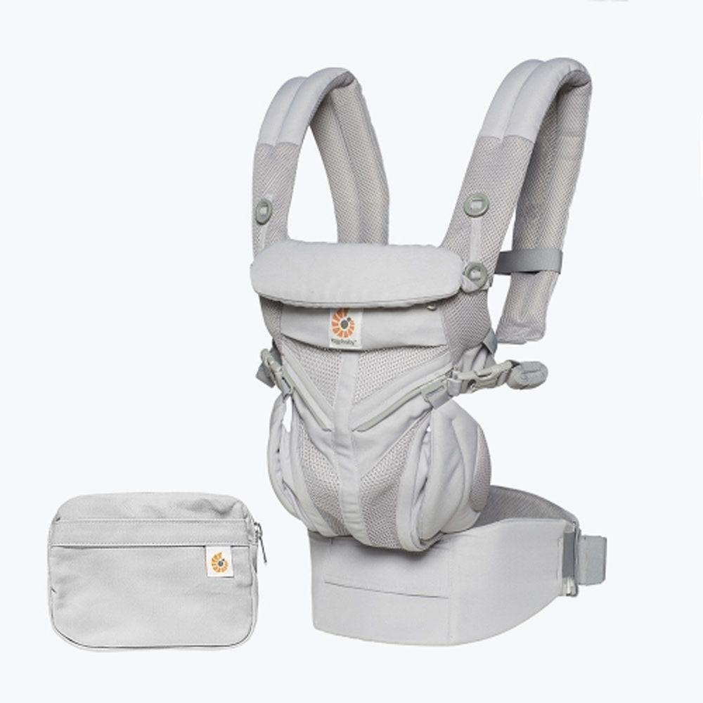 美國ERGObaby - Omni全階段型四式360嬰兒揹巾/揹帶-透氣款-灰色