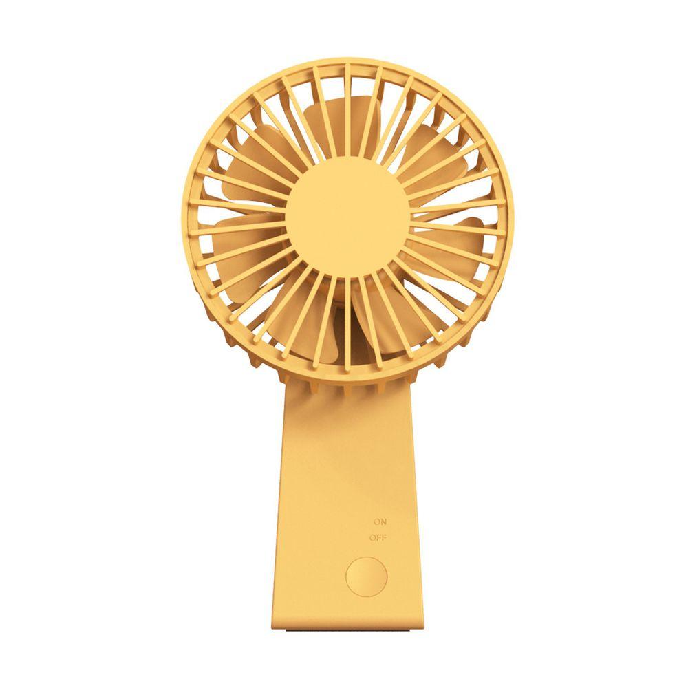 AIRMATE 艾美特 - USB垂直翻轉充電風扇-活力黃
