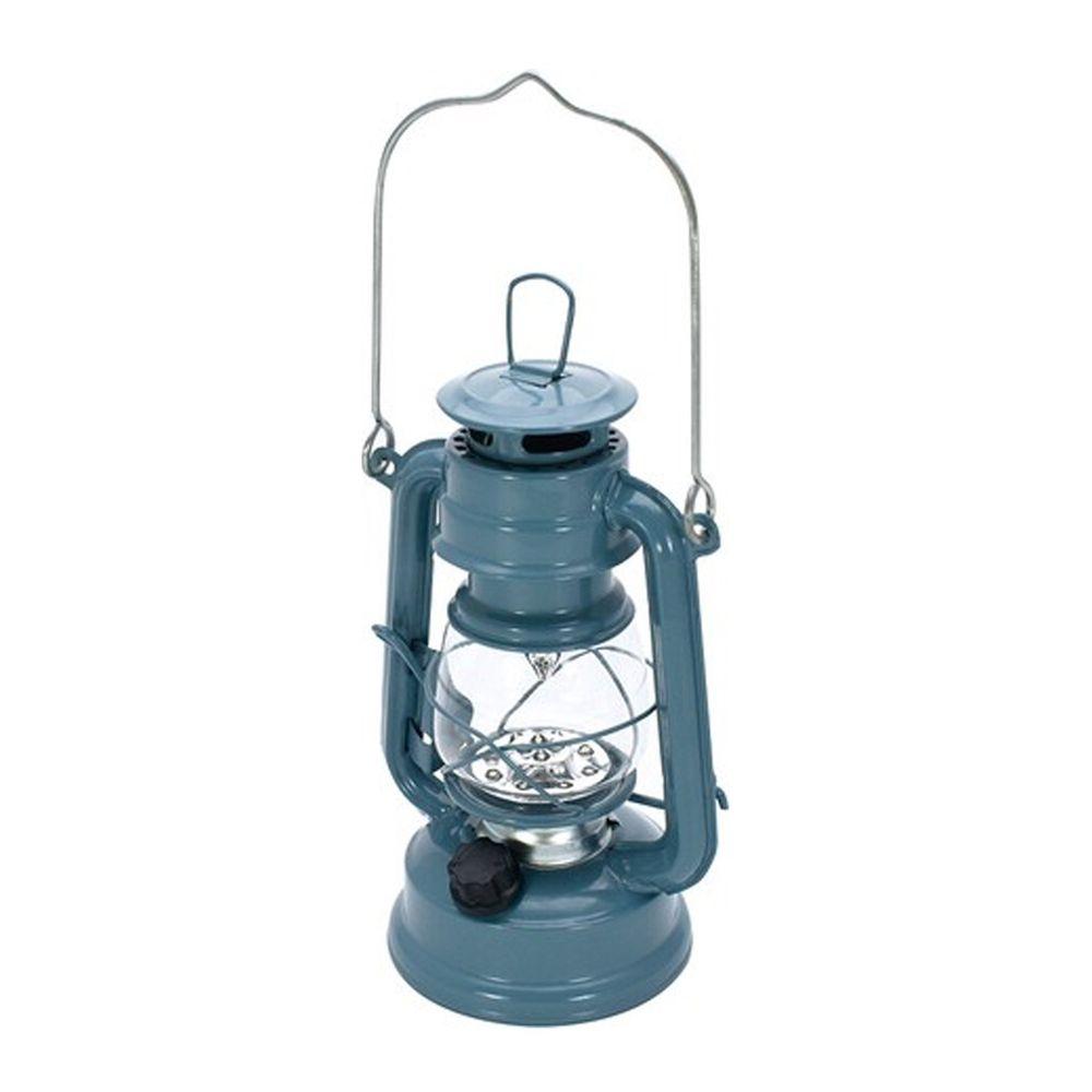 日本丸和 - 復古煤油燈造型LED露營燈-星塵藍 (12x9.5x21cm(含提把27cm))