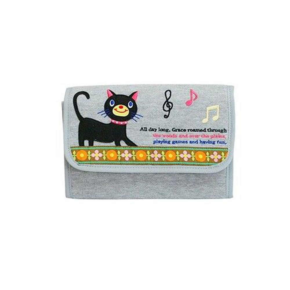 日本 KNICK KNACK - 母子手帳萬用包-貓咪