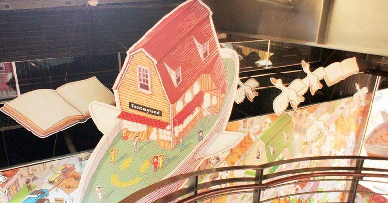 【台中親子旅遊】巨人遺落的魔法書!國美館藝想號夢想飛船