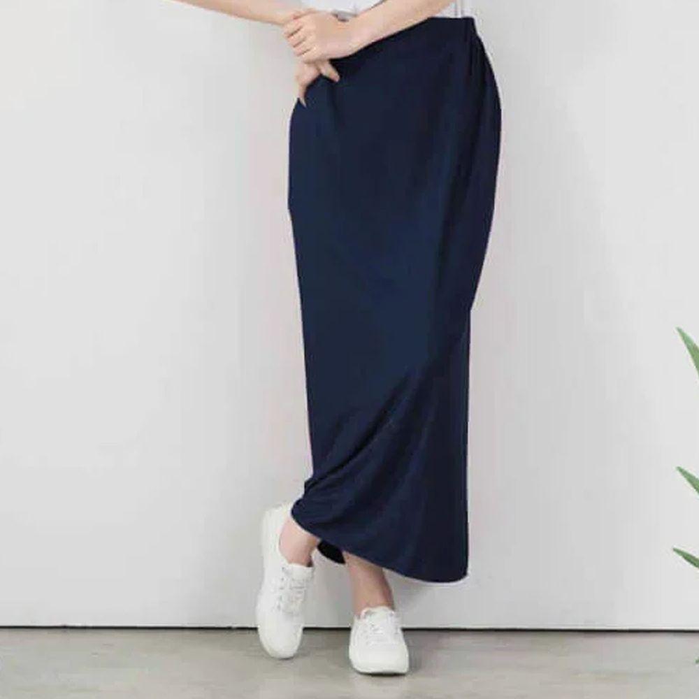 貝柔 Peilou - 3M防曬遮陽裙-素色-丈青色 (FREE SIZE)
