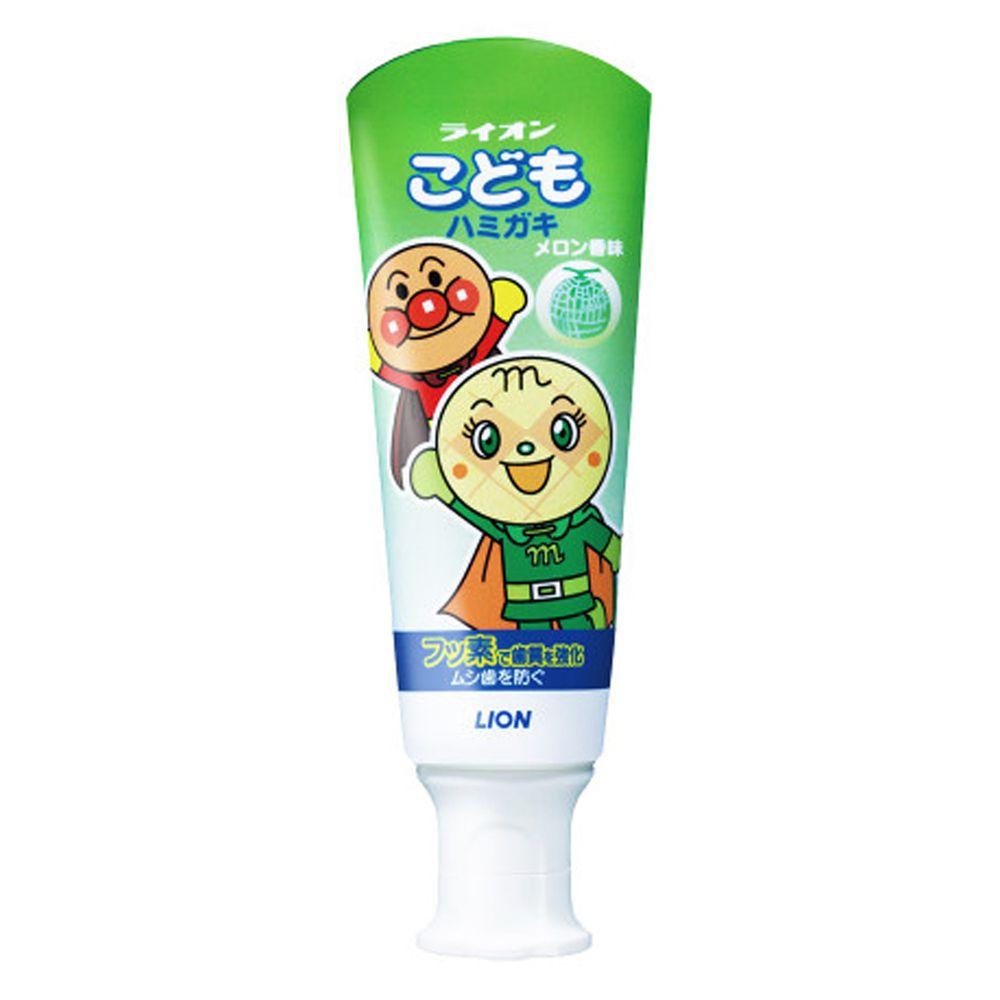 獅王 - 日本獅王 麵包超人牙膏-哈密瓜-6入