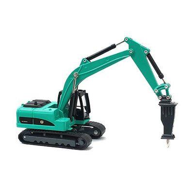 工程車-破碎機(綠)-關節可動
