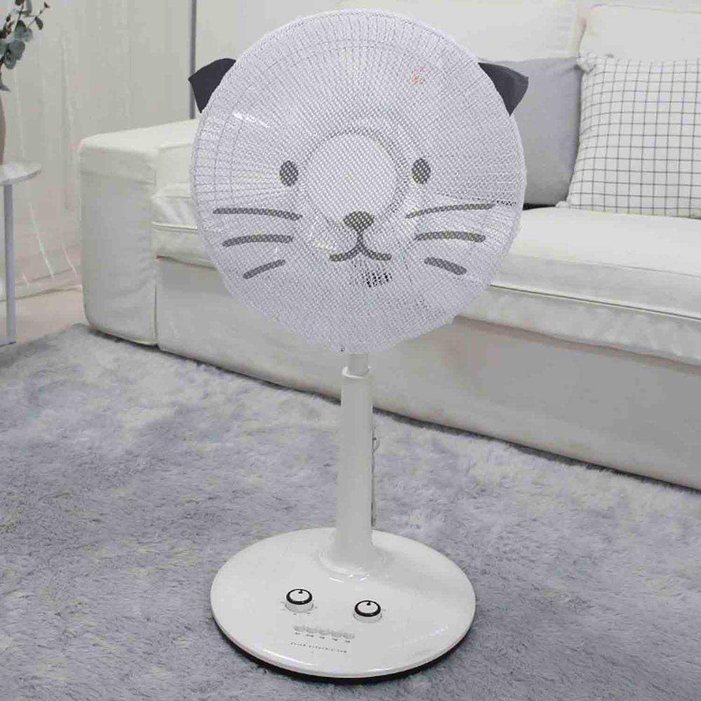 韓國 Bebe Deco - 電風扇安全網套-可愛喵喵