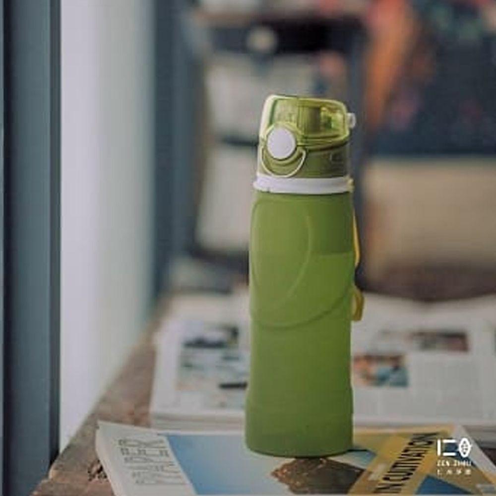 仁舟淨塑 - 捲捲矽水瓶-大地綠
