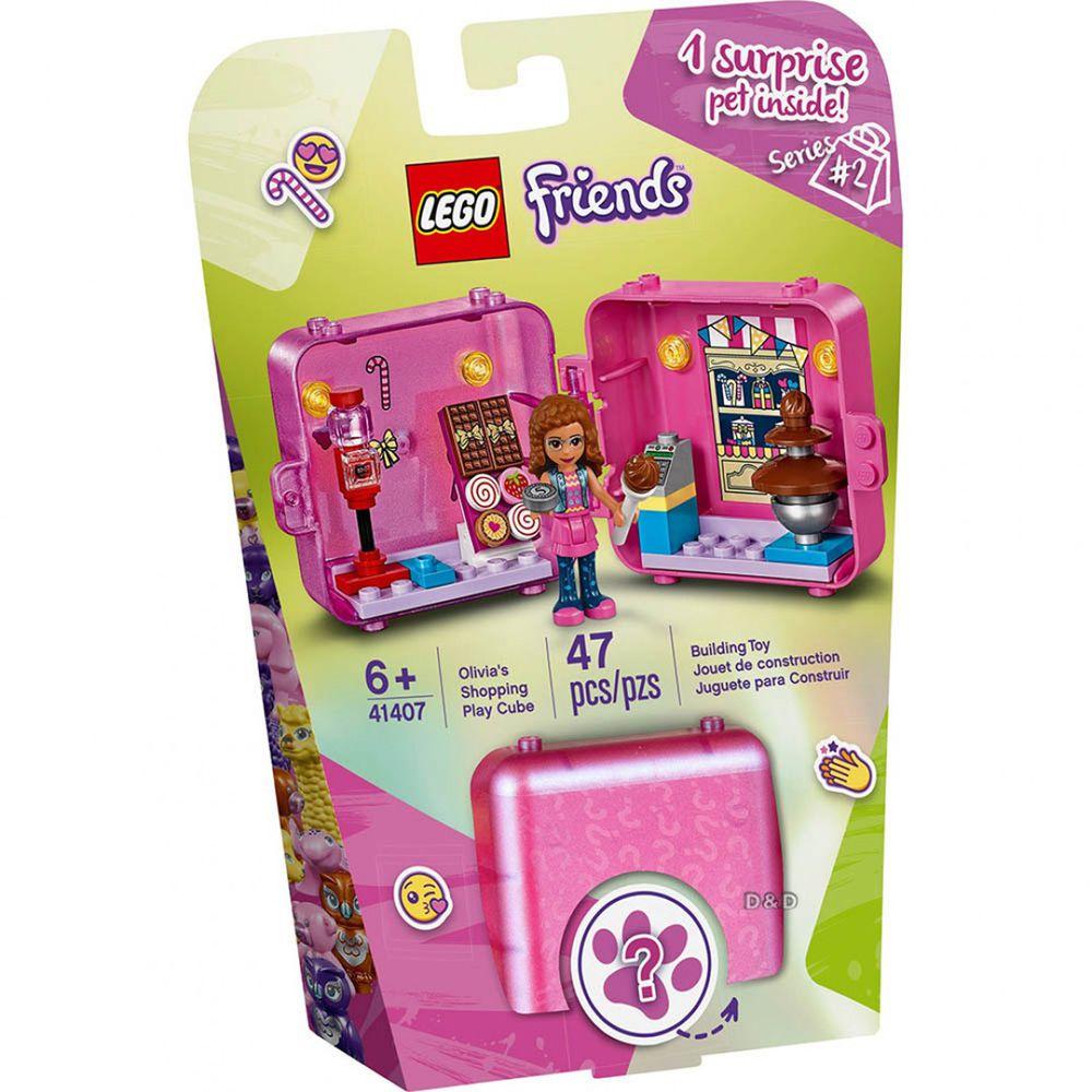 樂高 LEGO - 樂高積木 LEGO《 LT41407》Friends 姊妹淘系列-購物秘密寶盒-奧麗薇亞-47pcs