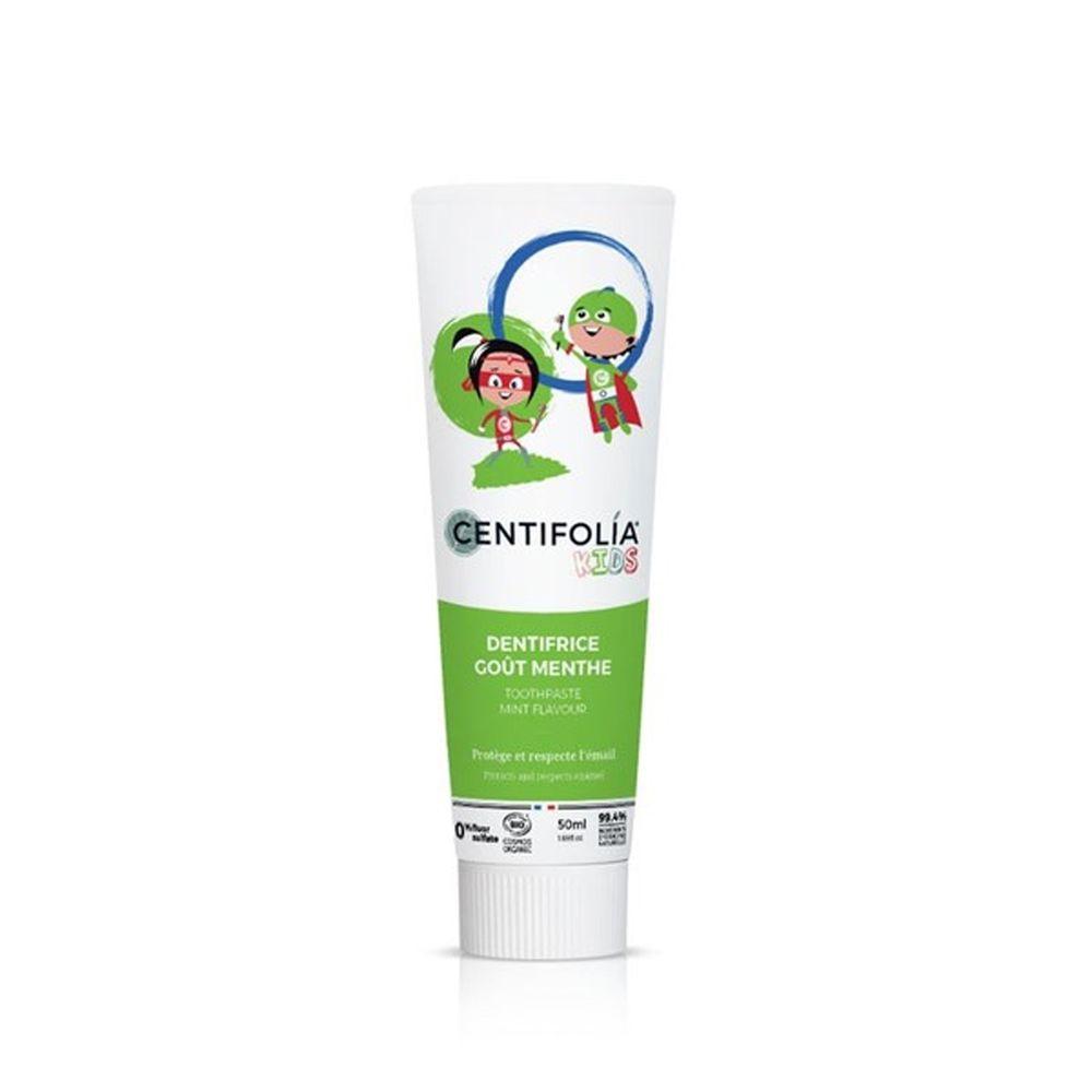 法國貝貝 - 愛家系列-兒童乳牙專用牙膏-薄荷口味-50ml