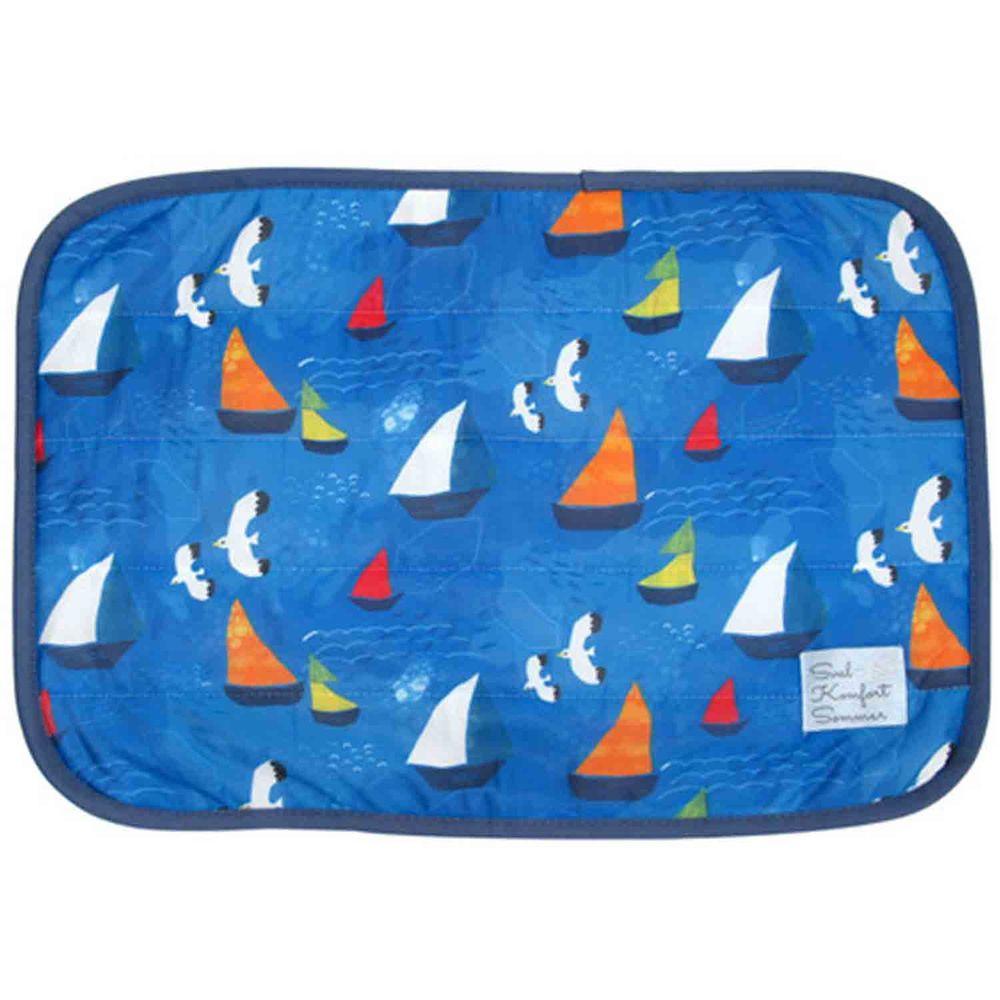 日本 DAIKAI - 接觸涼感枕頭套-帆船