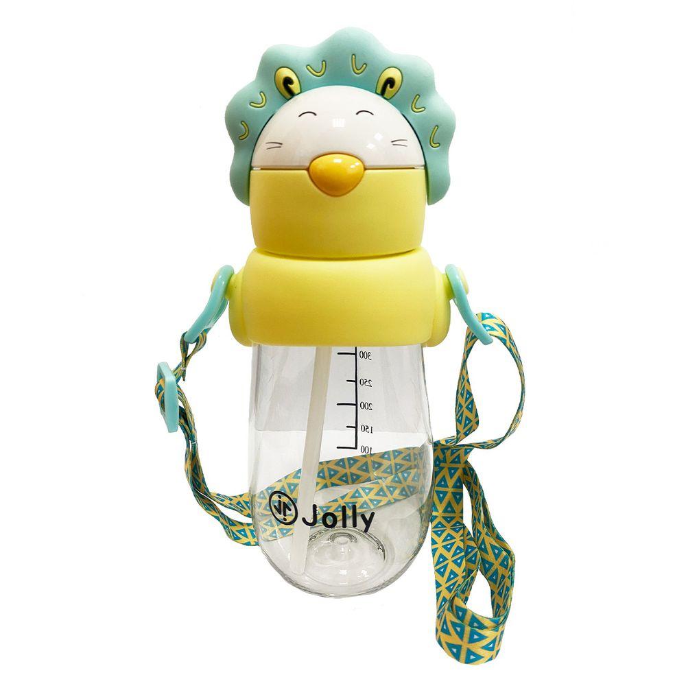 英國 JOLLY - 動物水杯-490ml-藍獅