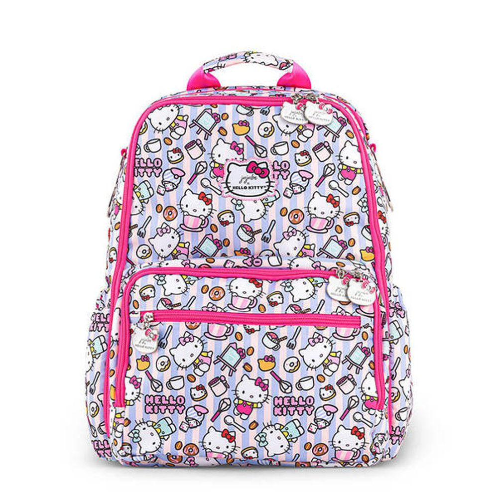 美國 Ju-Ju-Be - Zealous Backpack 質感輕背包-ZealousBackpack-Hello Kitty Bakery