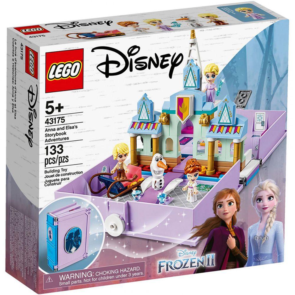 樂高 LEGO - 樂高 Disney 迪士尼公主系列 -  安娜與艾莎的口袋故事書 43175-133pcs