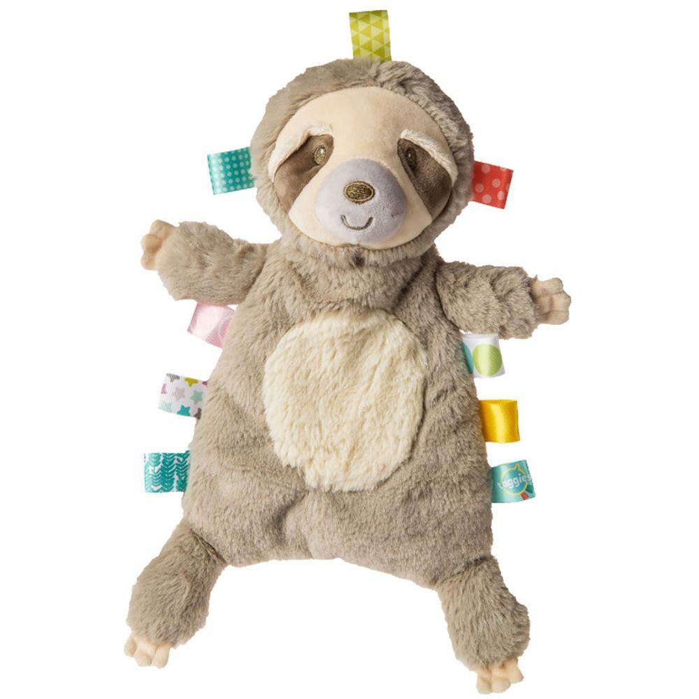 美國 MaryMeyer 蜜兒 - 標籤玩偶安撫巾-微笑樹懶