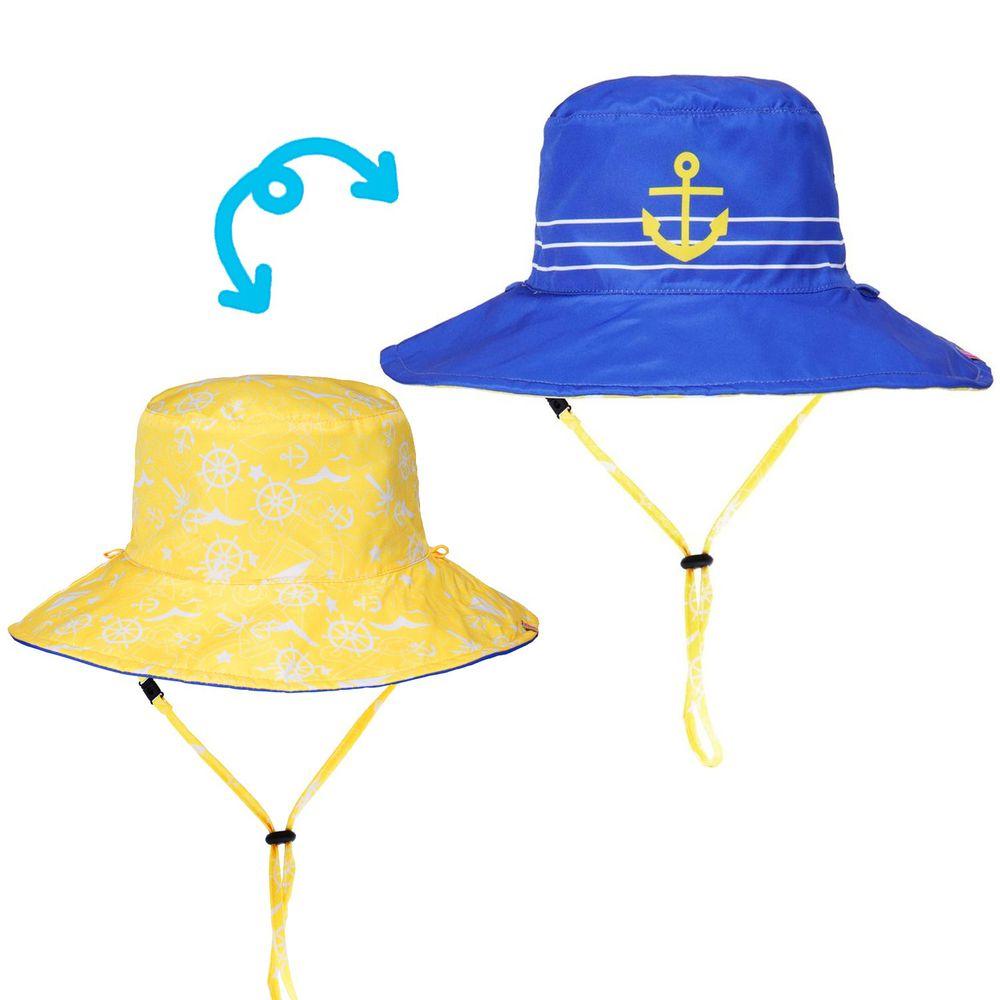 美國 Dabbawalla - 瓦拉帽-海島假期雙面帽 (3-6歲(頭圍50-53cm))