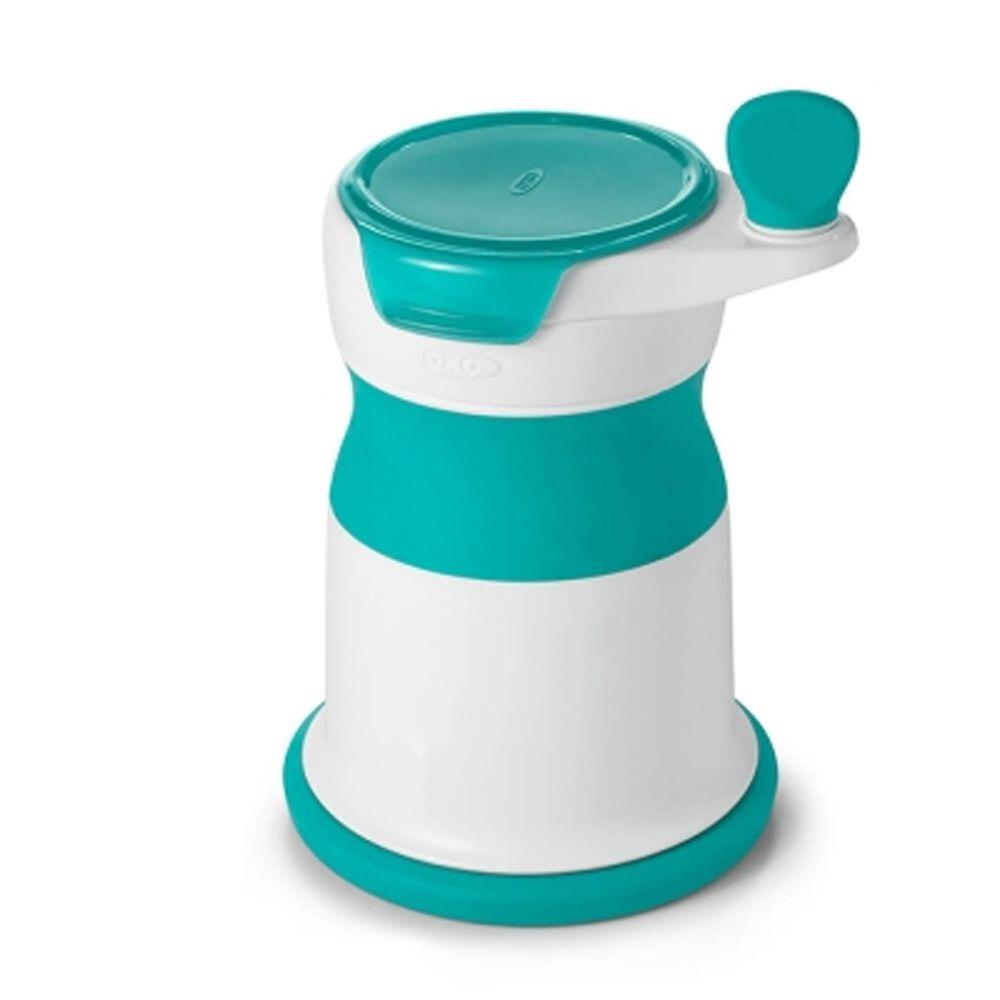 美國 OXO - OXO tot 好滋味研磨器-靓藍綠