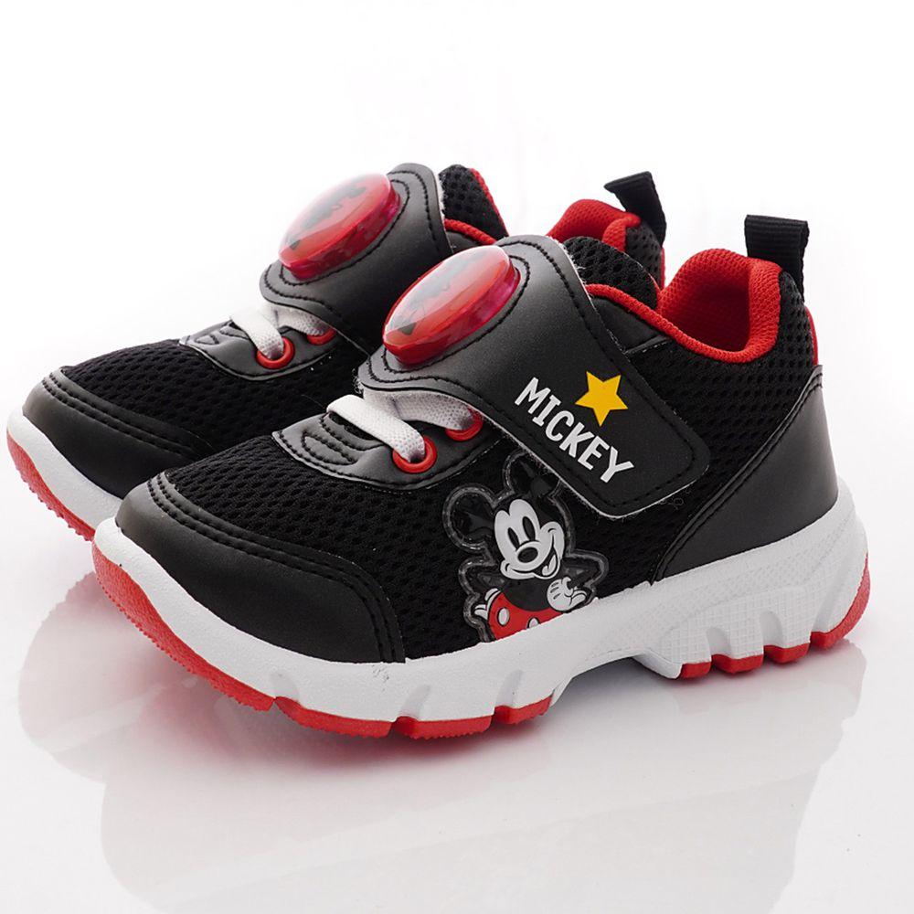 DISNEY 迪士尼 - 米奇電燈運動鞋(小童段)-黑