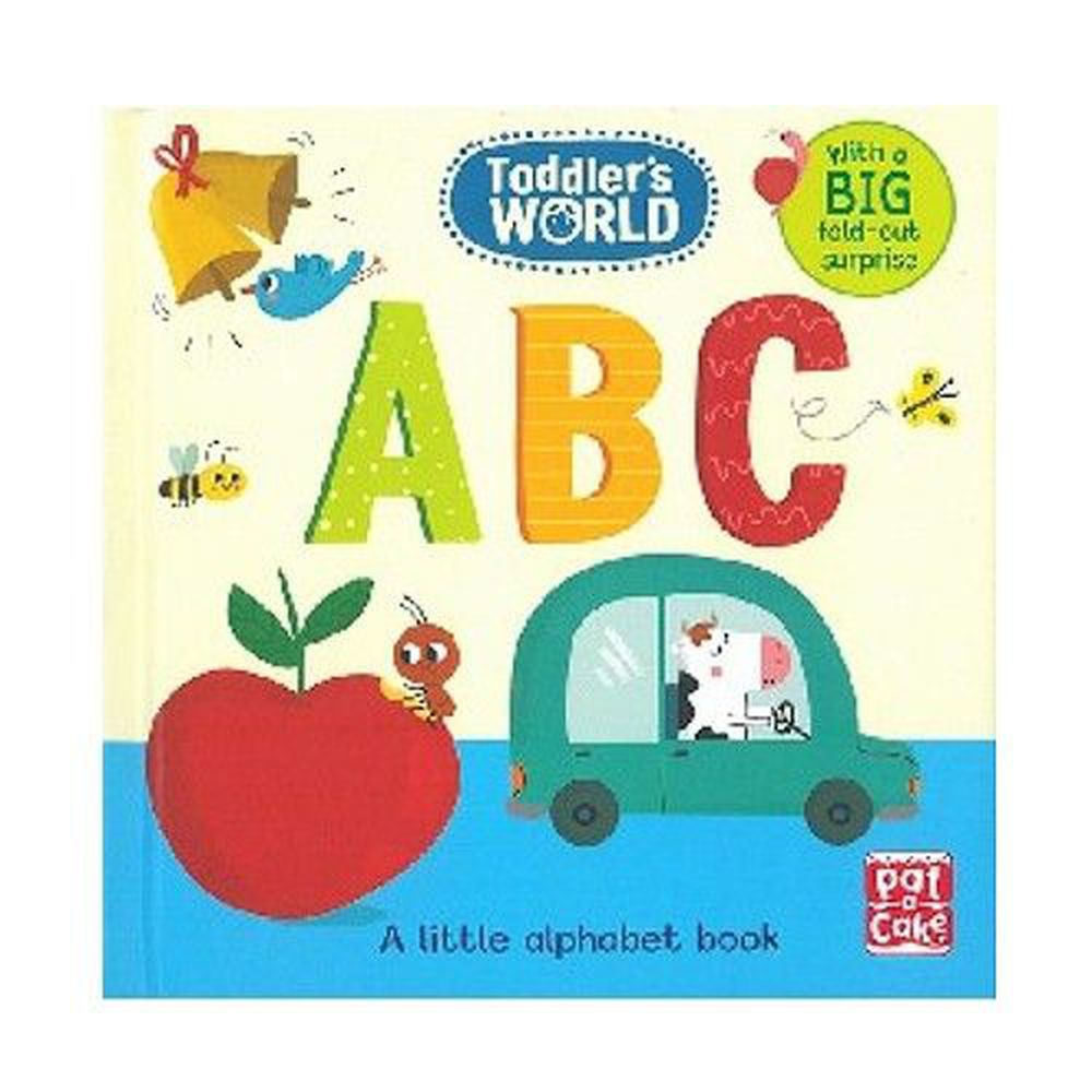 ABC: A little alphabet board book with a fold-out surprise 字母ABC (單字書)