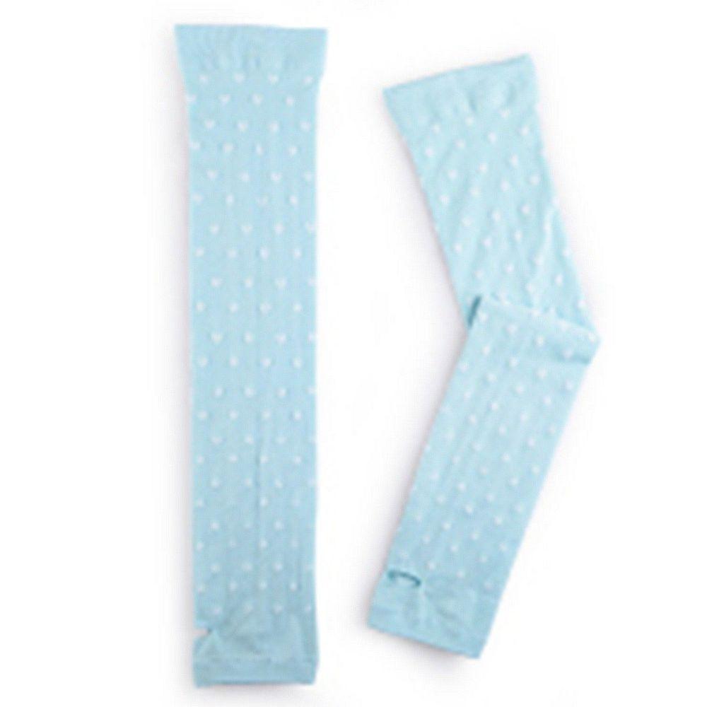 貝柔 Peilou - 高效涼感防蚊抗UV袖套-愛心-綠