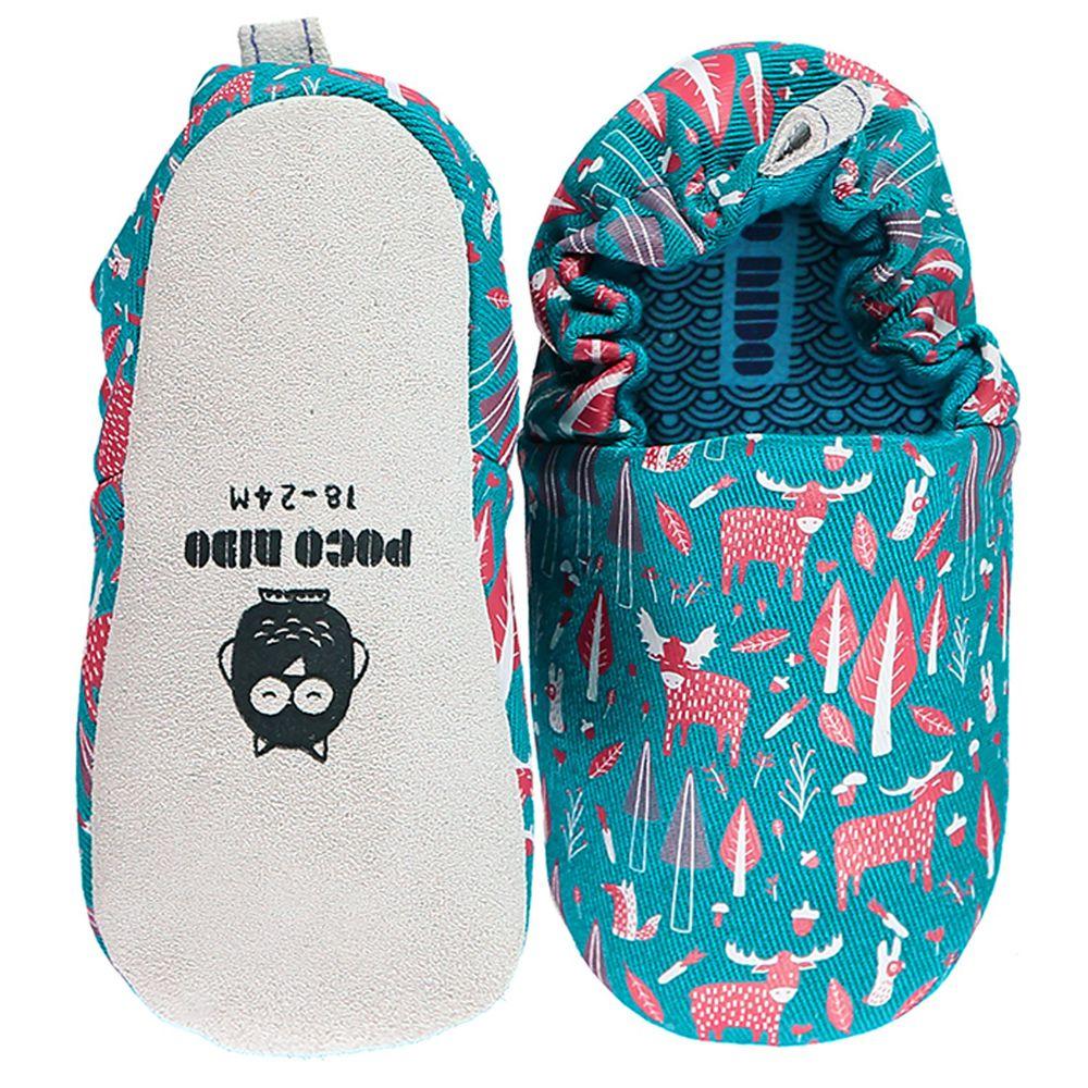 英國 Poconido - 寶寶手工鞋/學步鞋-幕斯小麋鹿